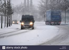 100 Trucks In Snow Vans Stock Photos Vans Stock Images