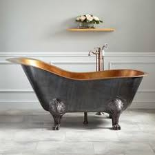 Kohler Villager Bathtub Biscuit by Kohler Iron Works 5 5 Ft Reversible Drain Drop In Cast Iron