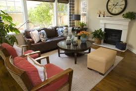 Brown Couch Decor Ideas by Lovely Brown Ottoman Coffee Table 46 Swanky Living Room Design