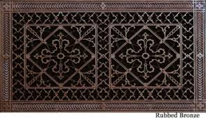 Decorative Return Air Grille 20 X 20 by Decorative Return Air Filter Grille Beaux Arts Classic Products