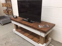 Pallet TV Stand Media Console