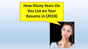 How Many Years Do You Go Back On A Resume? (2018) - YouTube How Long Should A Resume Be In 2019 Real Estate Agent Writing Guide Genius Myth Rumes One Page Beyond Career Success Far Back Your Go Grammarly 14 Unexpected Ways Realty Executives Mi Invoice And That Get Jobs Examples Buzzwords For Words Many Years A 20 2017 Beautiful Case Manager Unique Onepage Resume May Be Killing Your Job Search Cbs News Employment History On 99 On Wwwautoalbuminfo