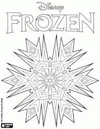 Frozen Color Book Pages