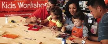Home Depot Kids Workshop Free Kids Building Classes