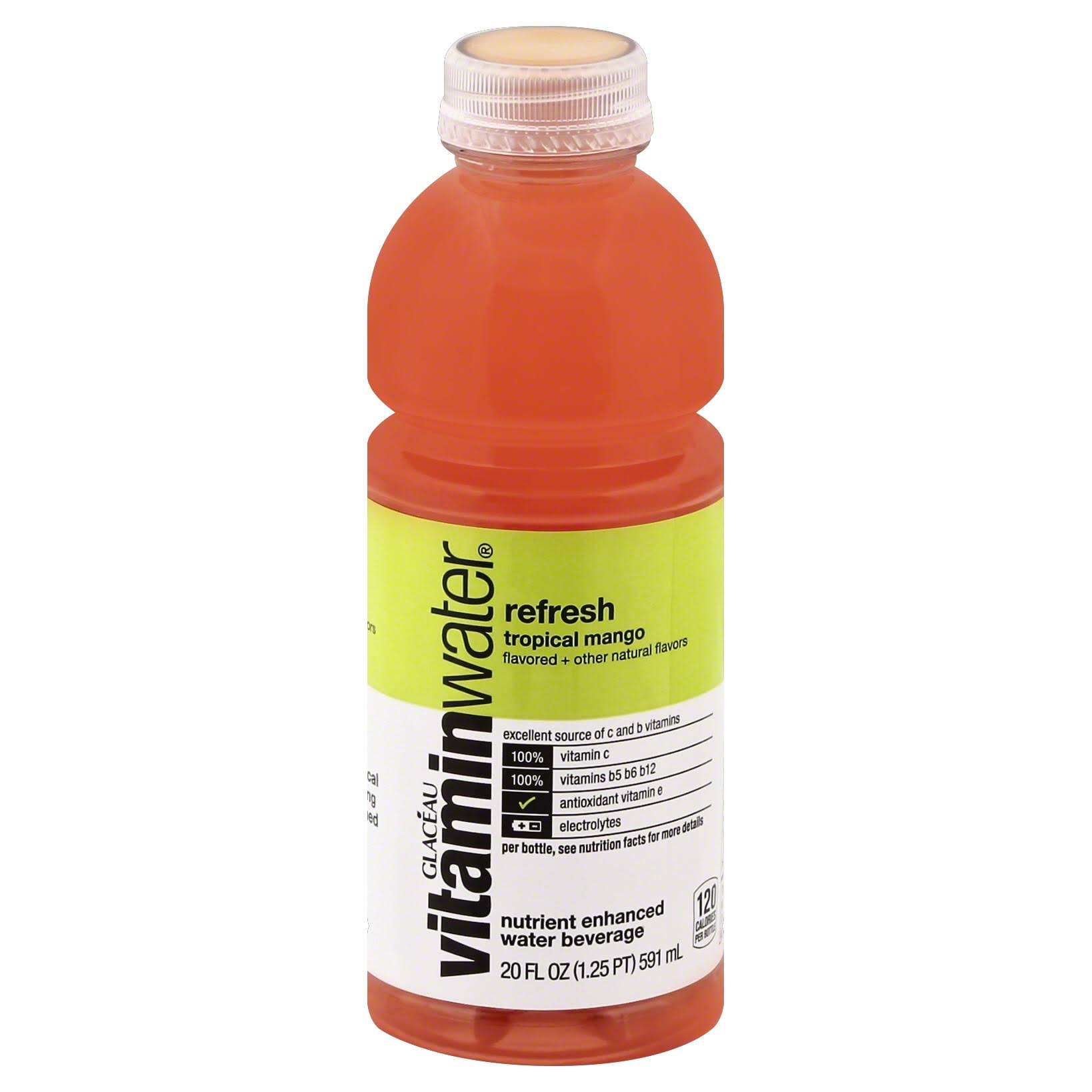Glaceau Vitaminwater Refresh - Tropical Mango