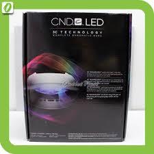 Cnd Shellac Led Lamp Instructions by Cnd Led Light Lamp Nail Dryer 3c Tech Cure Cnd Shellac Brisa