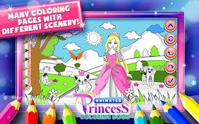 Princess Coloring Book Games Screenshot Thumbnail