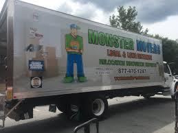 100 Movers Truck Monster On Twitter Monster New Truck Wrap All Of