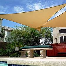 Amazon BIG 20 x20 x20 Oversized Triangle Garden Patio Sun