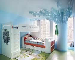 Blue Bedroom Wall by Cool Bedroom Ideas Kids Interior Design