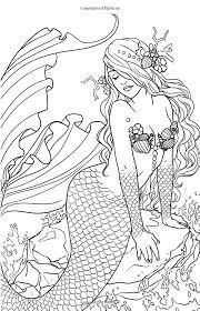 Amazon Magic Minis Pocket Sized Fairy Fantasy Art Coloring Book Vol 5 By