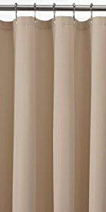 Light Filtering Curtain Liners by Amazon Com Maytex Fabric Shower Curtain Liner Bone Home U0026 Kitchen