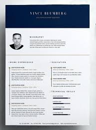 Creative Resume Templates Free Template Cover Letter Vector Download