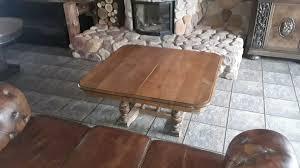 alter tisch herrenzimmer wohnzimmer rustikal antik