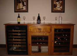 Tresanti Wine Cabinet With 24 Bottle Cooler by Endearing Wine Cooler Cabinet Furniture And Wine Cabinets Wine