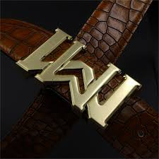 Double M buckle belts designer belt genuine leather Luxo Snakeskin