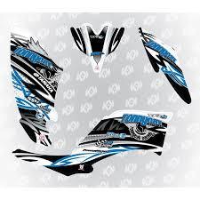 kit deco 250 raptor kit deco tonnycat racing race edition 250 raptor blanc bleu