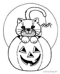 Pumpkin Patch Coloring Pages Printable free halloween coloring clipart clipartxtras