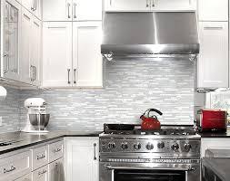 cracked glass tile backsplash amazing kitchen with white glass