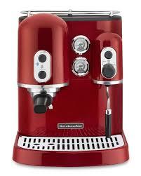 KitchenAidR Pro LineR Espresso Maker Candy Apple Red