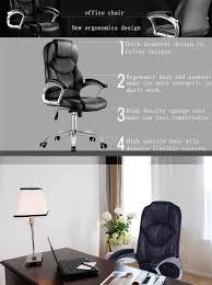 Office Chair 300 Lb Capacity by Amazon Com Lscing Big And Tall 300 Lb Capacity Towering High
