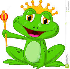 100 King Of The Frogs Frog King Cartoon Stock Vector Illustration Of Card 34605821