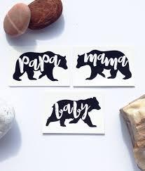 Papa Bear Mama Baby