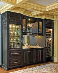 Dining Room Built In Buffet Amazing Glass Cabinet Door Cabinets 2 Kitchen Grass Cloth