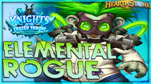Top Tier Hearthstone Decks August by Prince Elemental Rogue Tempo Deck Hearthstone Top Decks