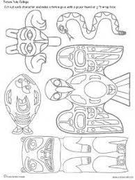 Art Lessons Totem Pole Printables