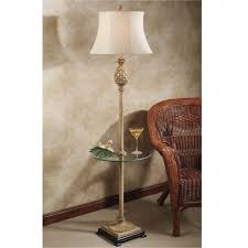 Floor Lamp With Glass Table Attached by Floor Lamps With Tables Attached Cool Floor Lamps