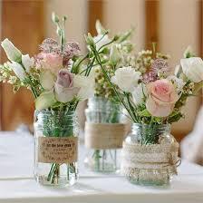 Table Decorations Rustikale Hochzeit Mit Blumigem Charme Rustic Wedding Flowers