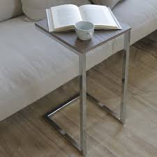 plateau canapé table d appoint avec plateau carré tower arredaclick
