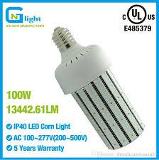 100 watt 6000k daylight led corn bulb light 13442 lumens 360