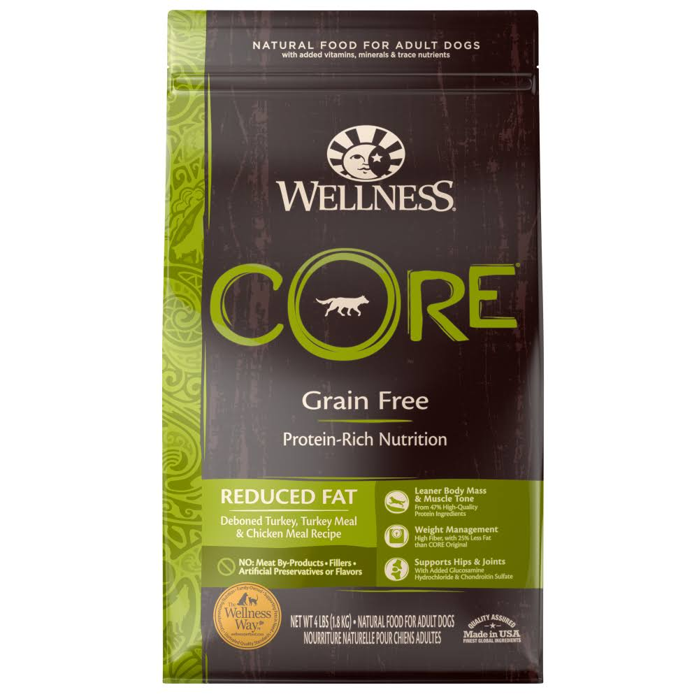 Wellness Core Dry Dog Food - Reduced Fat Formula
