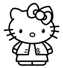 Hello Kitty Angel Coloring Games