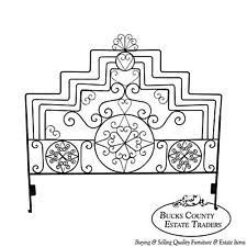 White Wrought Iron King Size Headboards by King Iron Headboard Ebay