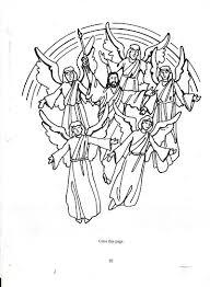 Daum Download Worksheet Jesus Second Coming Coloring Page