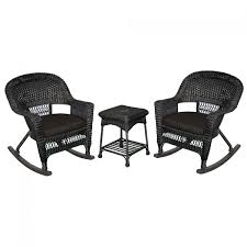 3pc Black Rocker Wicker Chair Set With Black Cushion Wicker Rocking Chair Grey At Home Windsor Black Rocker And End Table Set With Patio Resin Steel Frame Outdoor Porch Noble House Harmony With White 3pc Cushion Good Looking Glider Big Plans Sw Chairs Lounge Dark Brown Amazoncom Cloud Mountain 3 Piece Bistro Decorating Rockers Gliders Coral Coast Casco Bay