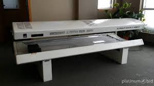 Wolff Tanning Bed by Platinum Bid Auction Service Coopersville Mi Sca Wolff System