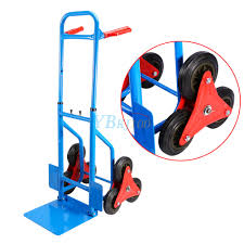 200kg Sack Truck Hand Sack Barrow Trolley Stair Climber Cart Widely ...
