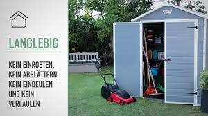 4x6 Outdoor Storage Shed by Keter Manor 6x5 Outdoor Garden Storage Shed De Youtube