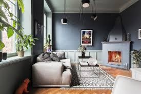 shades of grey 9 tipps für dunkle wände im wohnzimmer