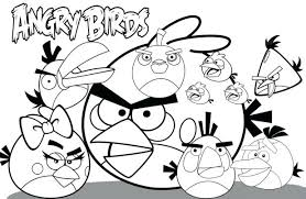 Angry Bird Coloring Pages To Print Toy Story Sheets Printable Free Christmas Disney Barbie Mermaid