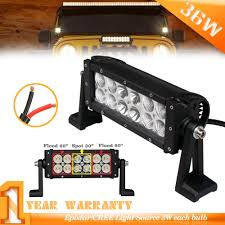 8inch 36W LED Light Bar Black Combo Beam For Jeep,UTV,ATV,Truck ... Cheap Light Bars For Trucks 28 Images 12 Quot Off Road Led China Dual Row 6000k 36w Cheap Led Light Bars Jeep Truck Offroad 617xrfbqq8l_sl10_jpg Jpeg Image 10 986 Pixels Scaled 10 Inch Single Bar Black Oak Ebay 1 Year Review Youtube For Tow Trucks Best Resource 42inch 200w Cree Work Light Bar Super Slim Spot Beam For Off 145inch 60w With Hola Ring Controller Wire Bar Brackets Jeep Wrangler Amazing Led In Amazoncom Amber Cover Ozusa Dual Row 36w 72w 180w Suppliers And Flashing With Car 12v 24