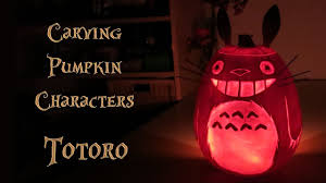 Preserving A Carved Pumpkin by Halloween Totoro Pumpkin U2013 Carving And Preservation Youtube
