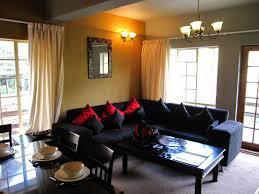 Black Leather Couch Decorating Ideas by Enchanting 20 Living Room Decor With Black Sofas Design