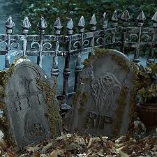 Halloween Cemetery Fence Finials by Amazon Com Forum Novelties Inc Cemetery Fence Multicoloured One