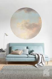 fototapete selbstklebend dot relic clouds ø 125 cm bei