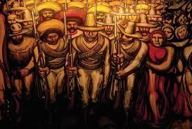 david alfaro siqueiros a los soldados de zapata cuadros
